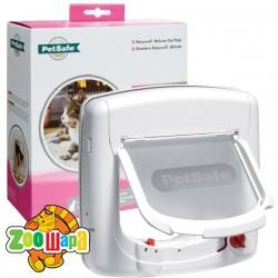 Staywell PetSafe ПЕТСЕЙФ СТЕЙВЕЛ ПРОГРАМ дверцы для котов до 7 кг, с программным ключом Цвет: белый